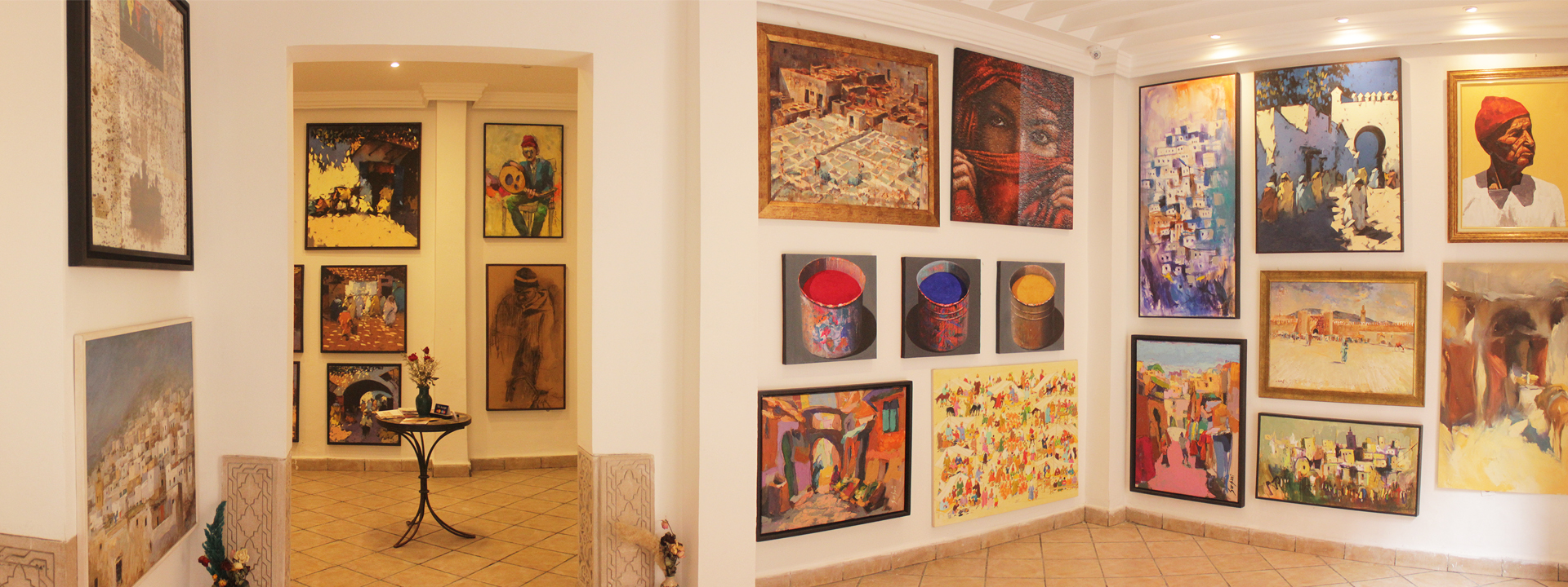 The Qoubba Gallery of Arts | Contemporary art in Morocco